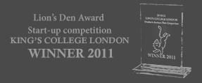 Lion's Den award